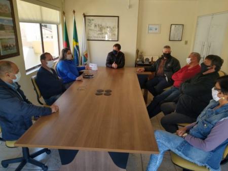 Nova Coordenadora do FGTAS/SINE realiza visita oficial a Câmara