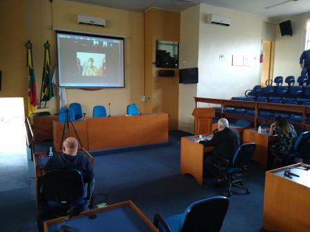 Comissão de Saúde da Câmara participa de reunião por videoconferência com Secretária de Saúde