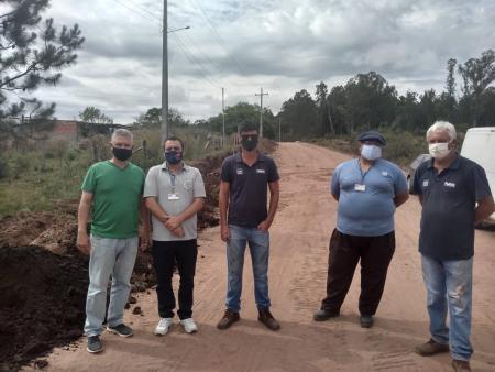 Corsan realiza a substituição de rede de água na região das Minas do Camaquã