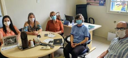 Vereadora Jussarete Vargas visita Hospital em Encruzilhada do Sul