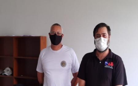 Segurança pública é pauta de reunião com comandante da Brigada Militar