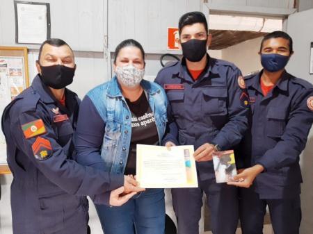 Vereadora Mirella concede Moção de Aplauso ao Corpo de Bombeiros