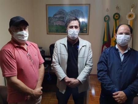 Minas do Camaquã é pauta de reunião entre vereador e prefeito