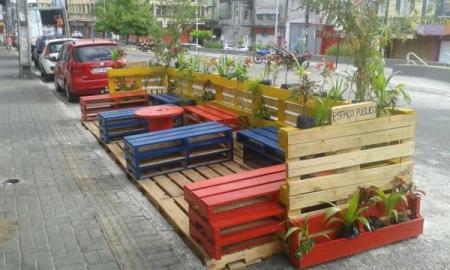 Vereador sugere a criação de espaços com parklets em Caçapava do Sul