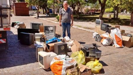 Vereador Paulo Pereira promove mais uma grande campanha de recolhimento de lixo eletrônico